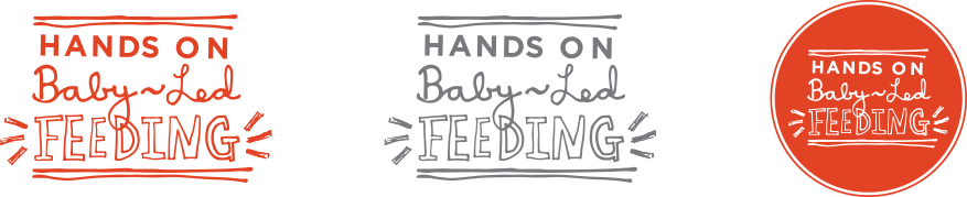 Baby Led Feeding Branding and website for new food startup Irish company Branding Design.