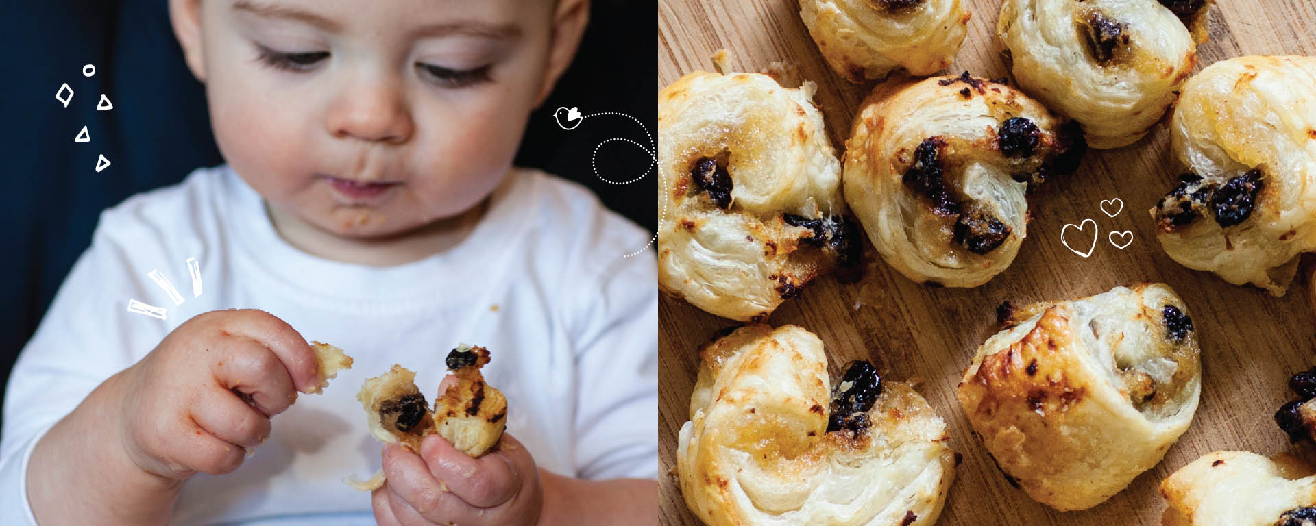 Baby Led Feeding Branding and website for new food startup Irish company Irish Food Blogger Design Website Footer Design
