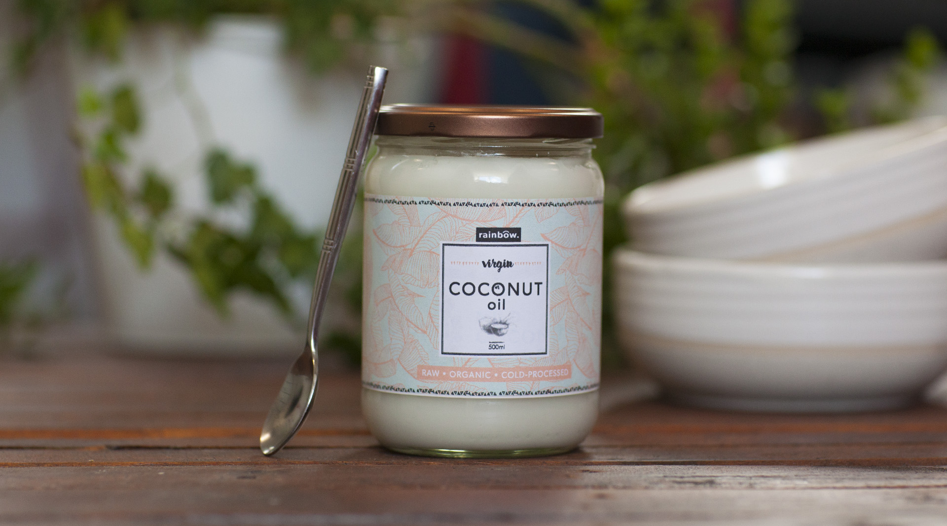 Coconut Oil Packaging Lifestyle
