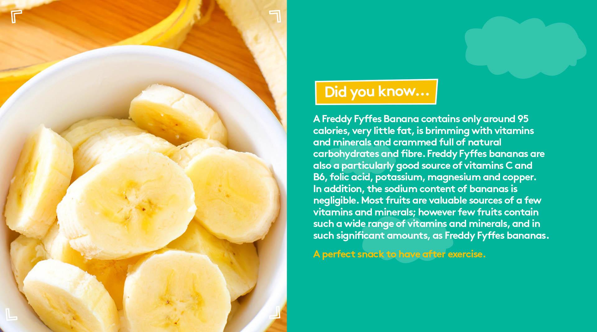 Freddy Fyffes Website Design Freddy Fyffes Did you know about bananas.