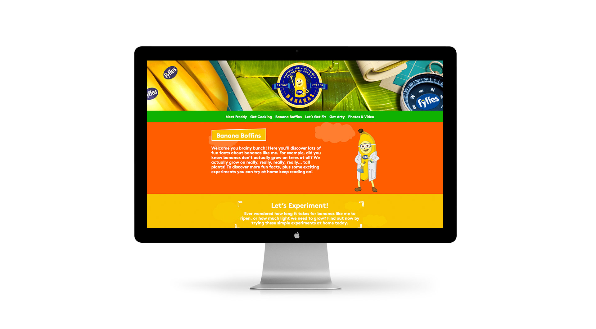 Freddy Fyffes Website Design Freddy Fyffes Website Lets Experiment.