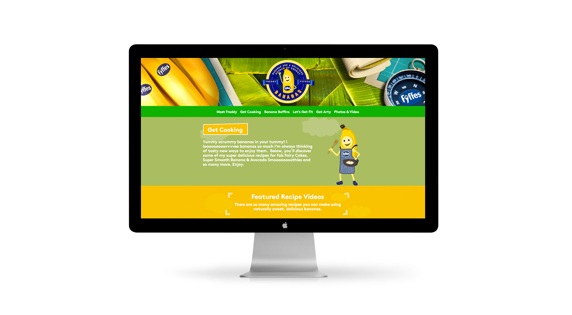 Freddy Fyffes Website Design Freddy Fyffes Freddy Fyffes Website Lets Get Cooking.