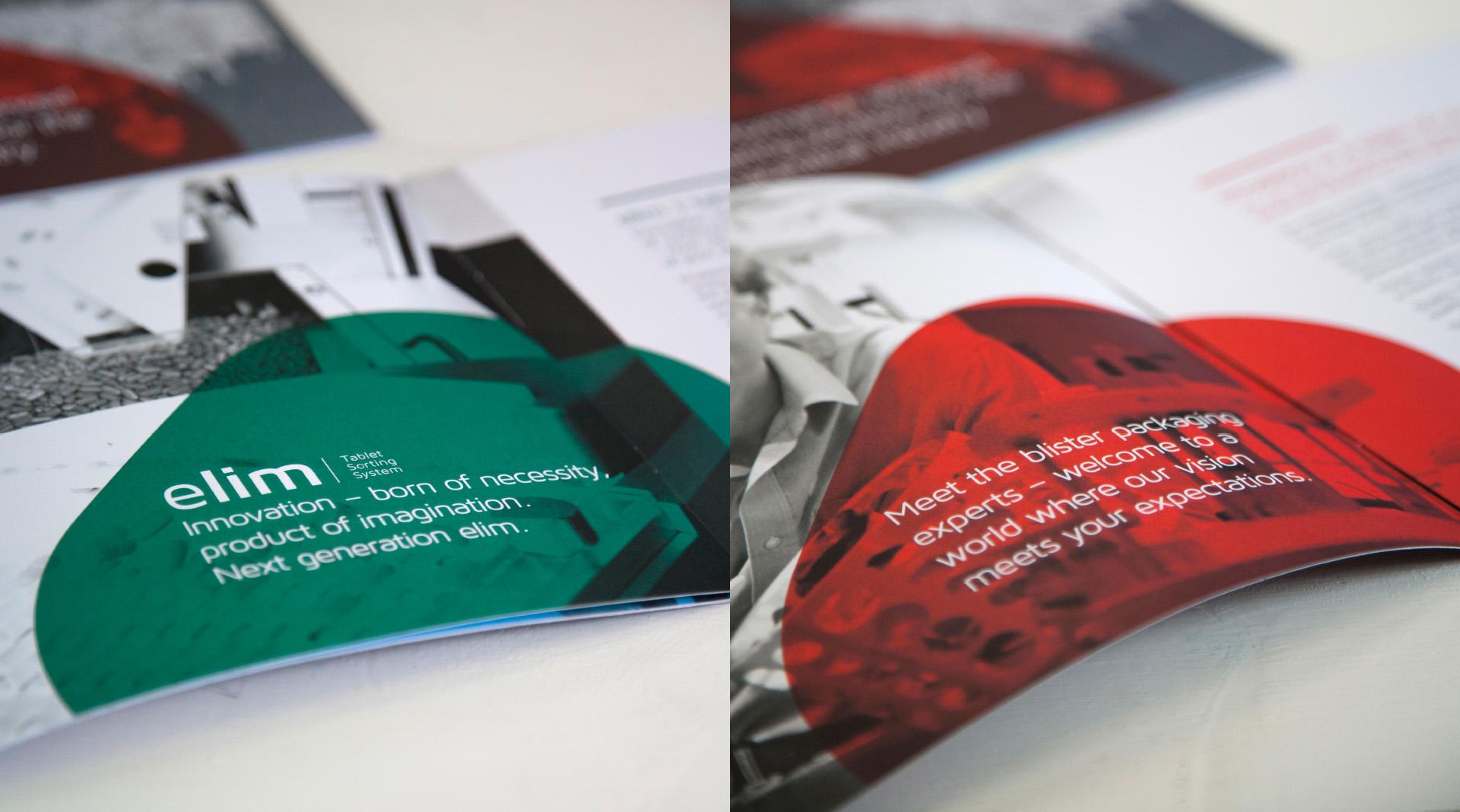 Prodieco Brochure Design details.