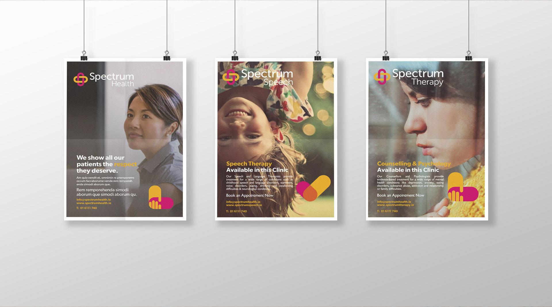 Spectrum Health Dublin Poster Design Dublin.