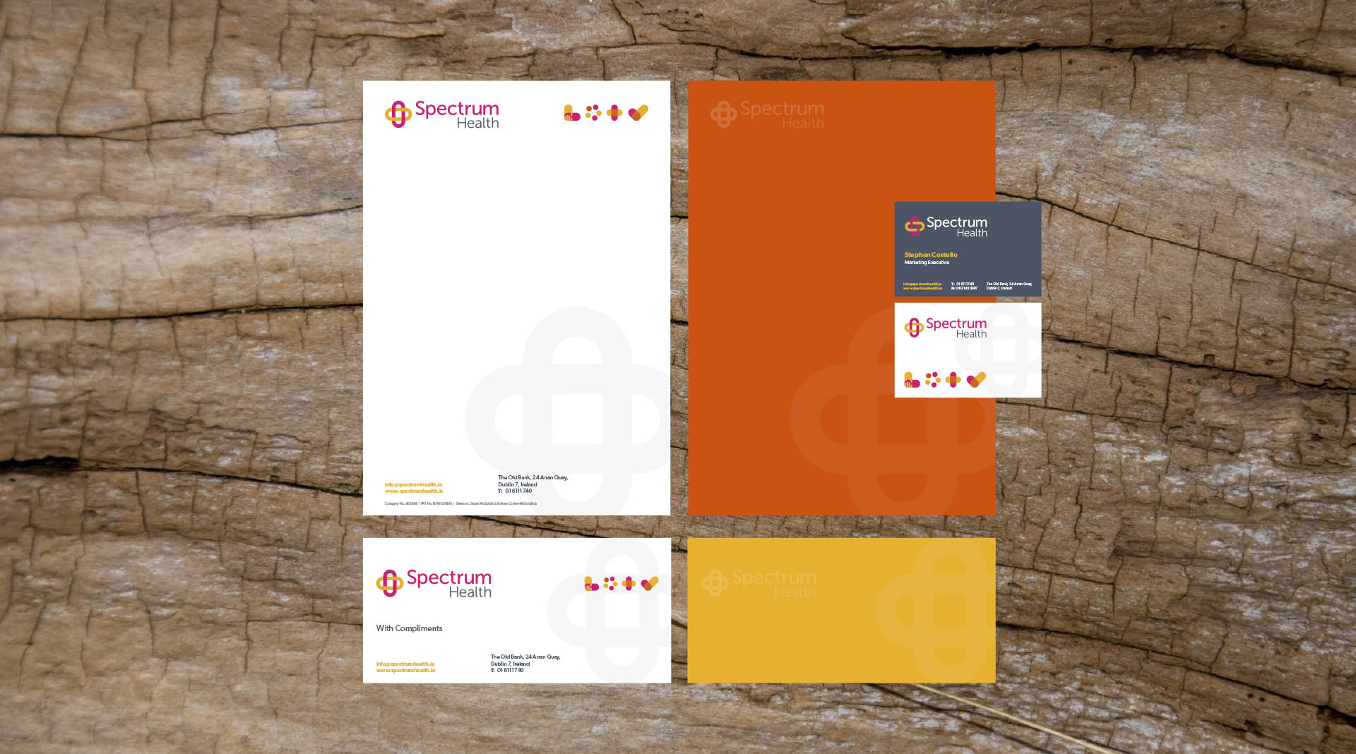 Spectrum Health Dublin Stationary Design Agency Dublin.