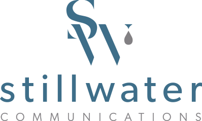 Stillwater Communications Logo Design.