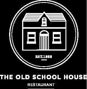 The Old Schoolhouse White Logo.