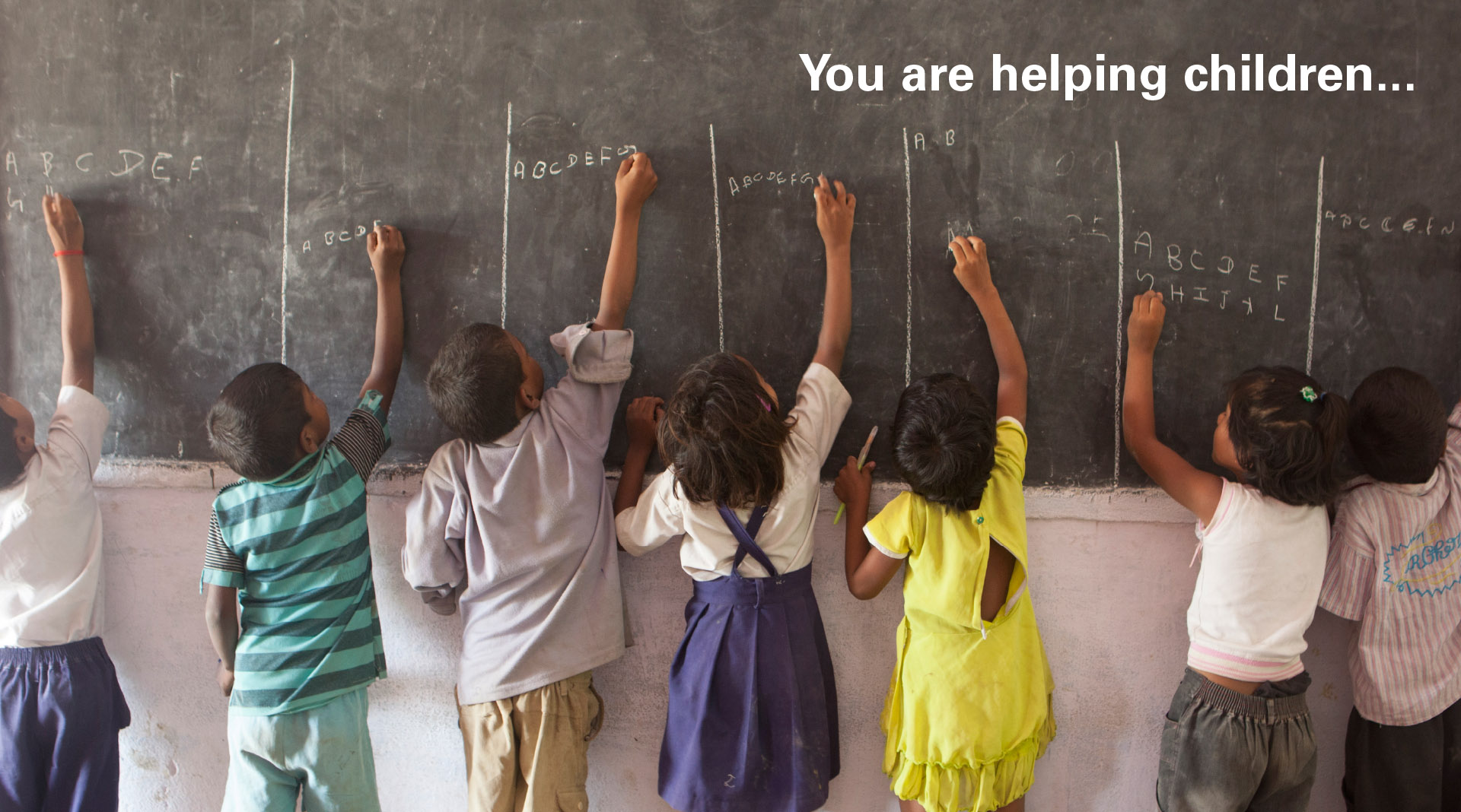Unicef Annual Reports You are helping Children