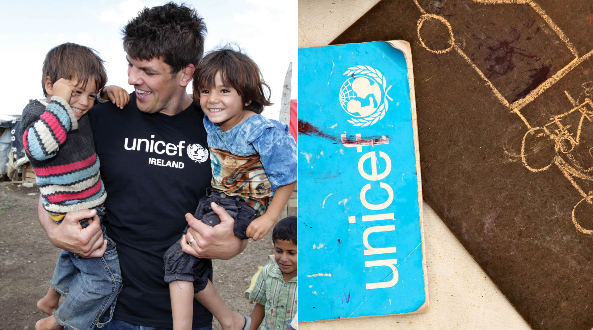 Unicef Annual Reports Donncha O'Callaghan Ambassador
