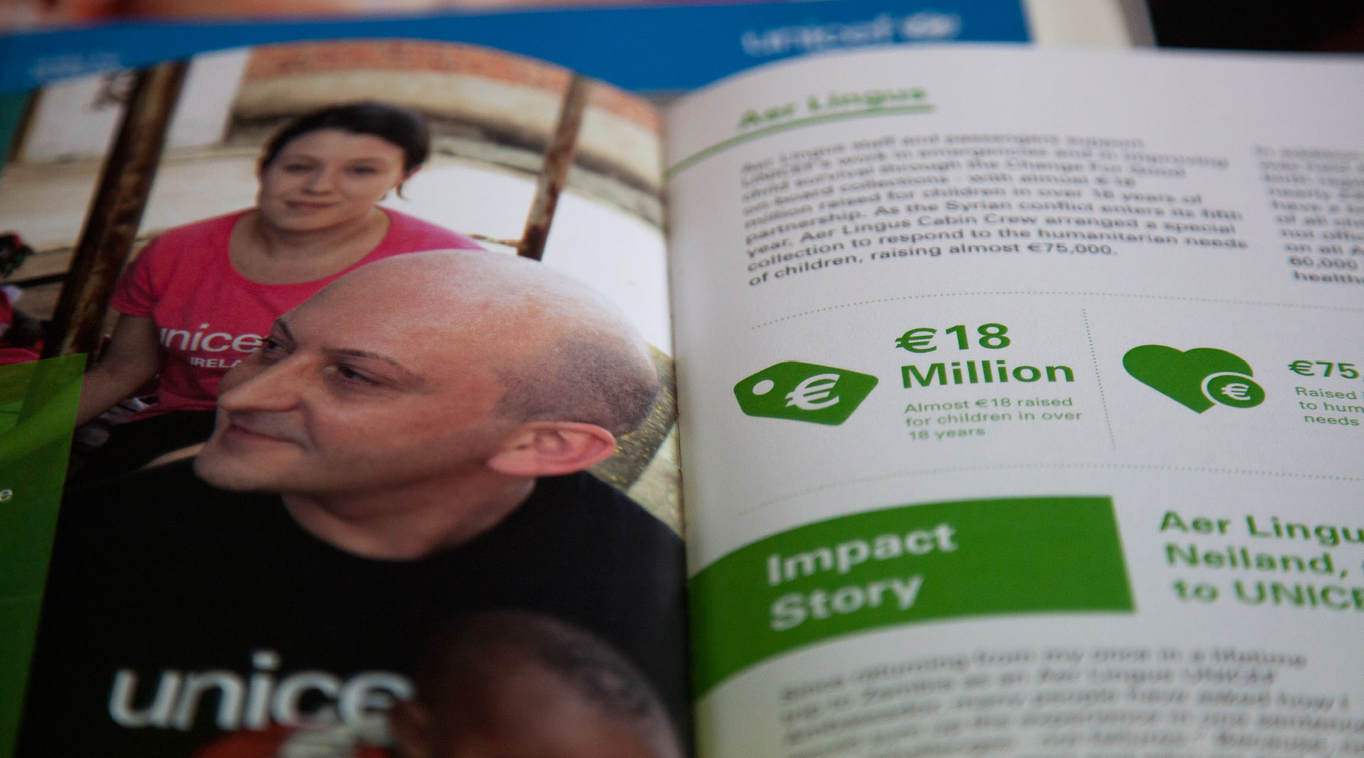 Unicef Annual Reports Facts