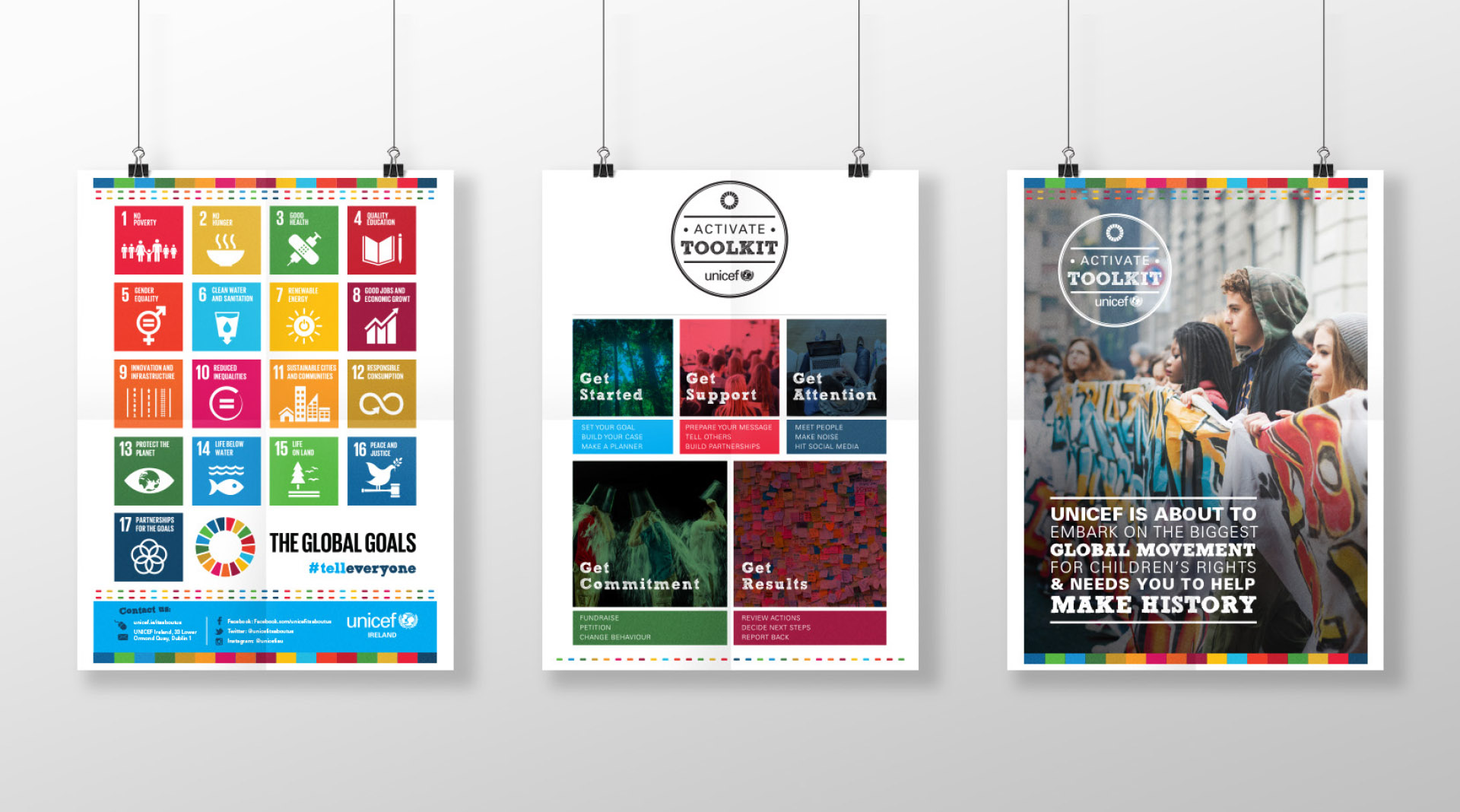 Unicef Global Goals Posters