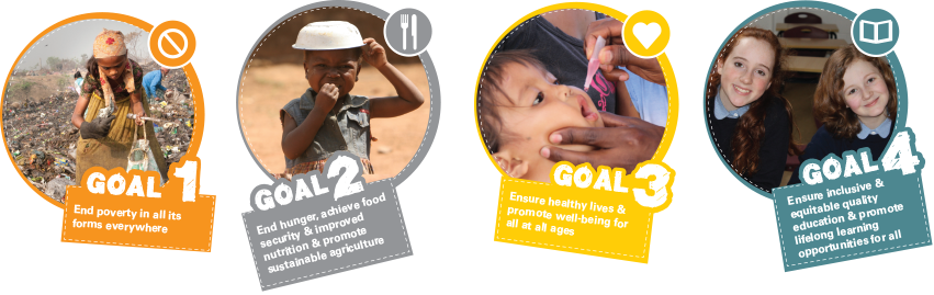 Unicef Global Goals Toolkit elements