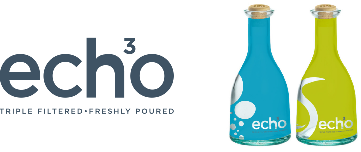 Echo full colour bottle design