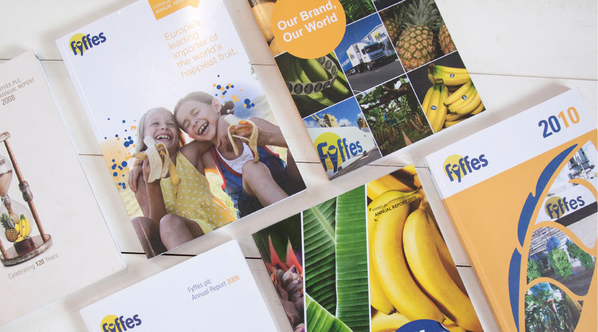 Fyffes Annual Reports Design Overview