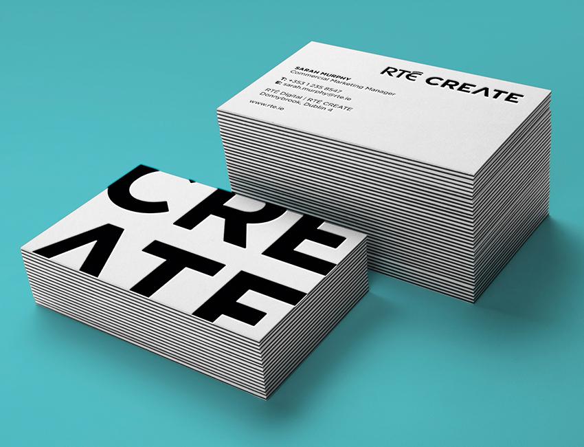 RTÉ Create Identity & Branding.