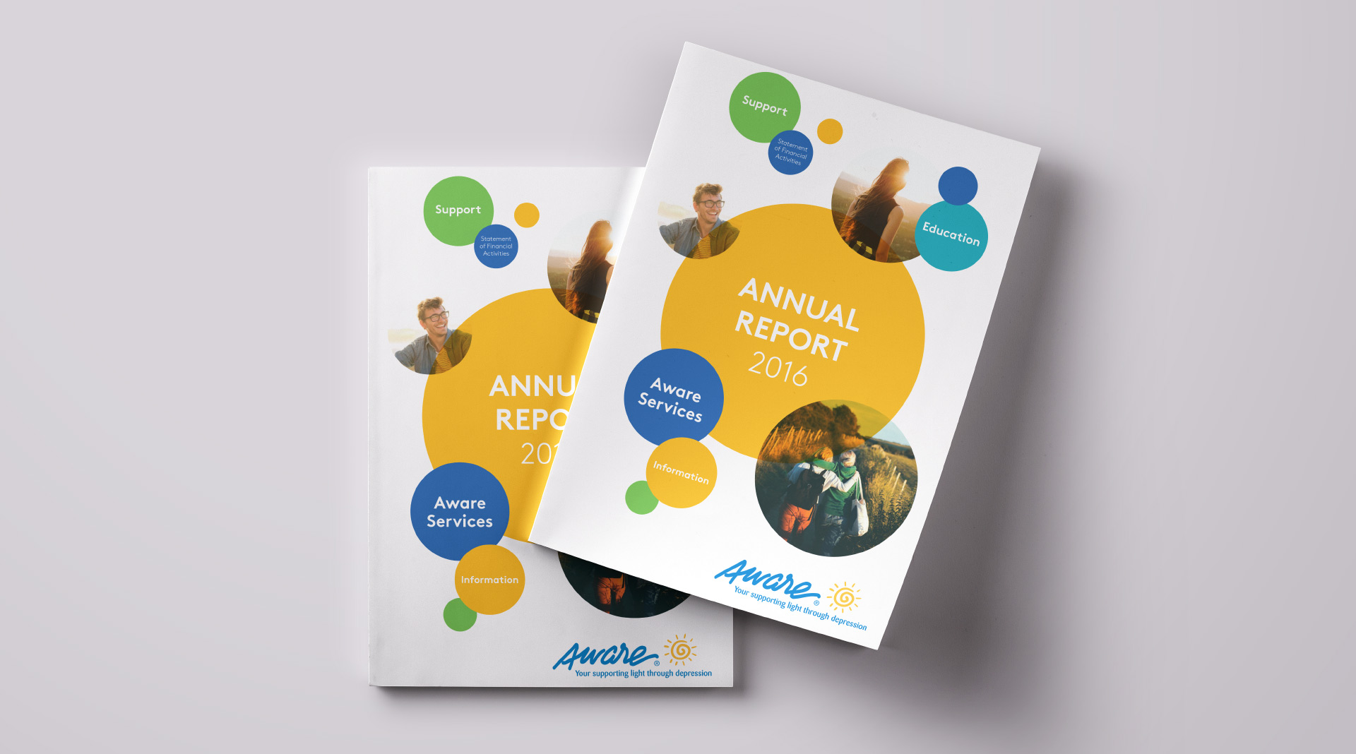 Design of Aware annual report 2017