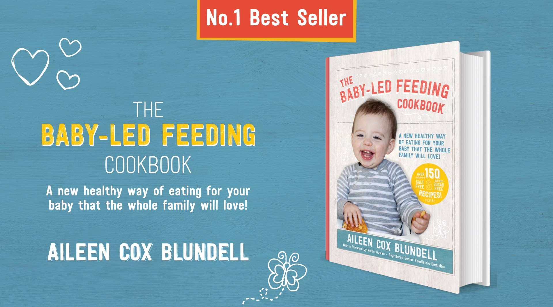 Baby led feeding book graphics