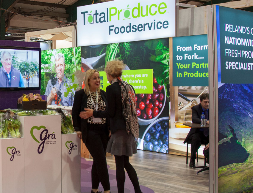Total Produce Catex Exhibition design