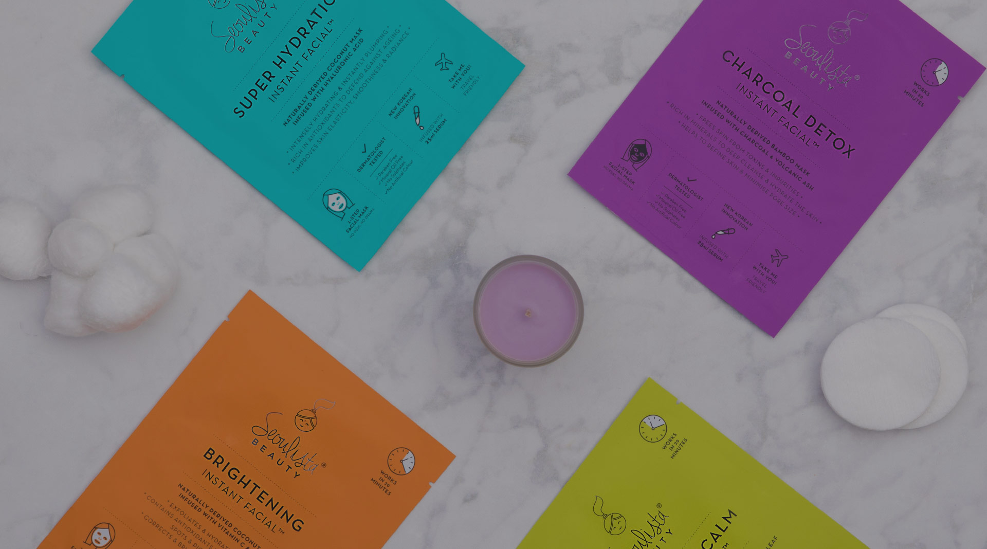 Brand identity, leaflet design and poster design for a beauty event