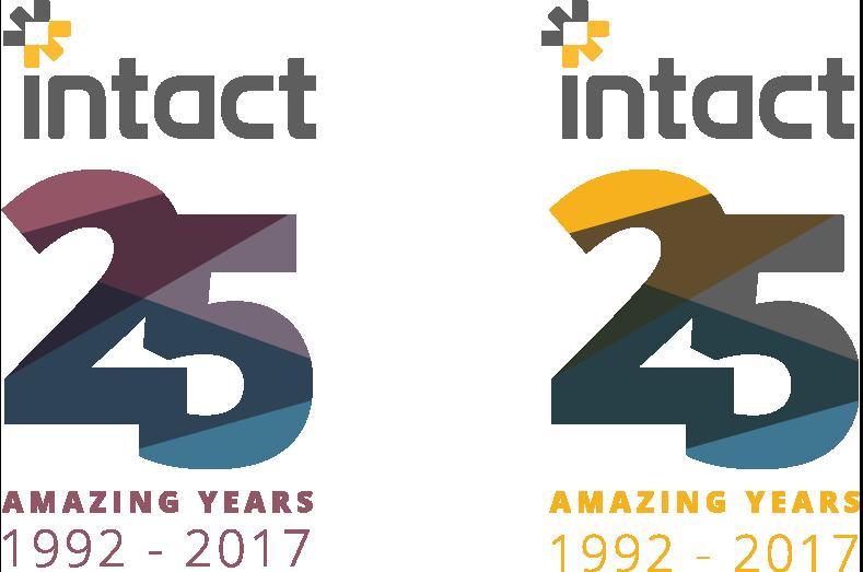 Intact 25 Years Logo