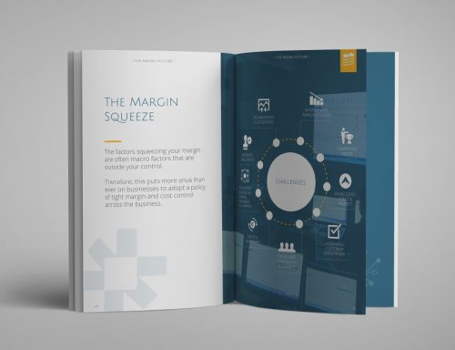 Intact Software Brochure Design.