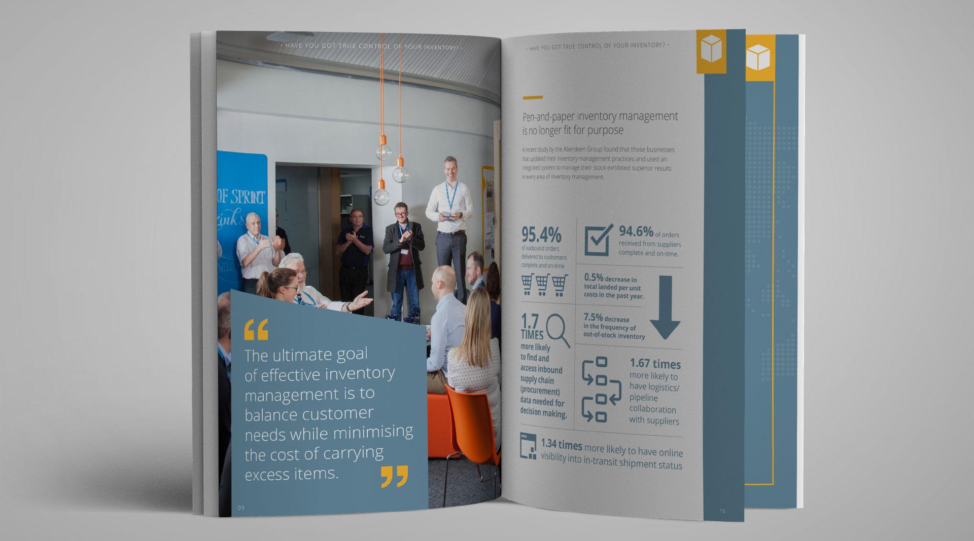 Intact Software Brochure Design.