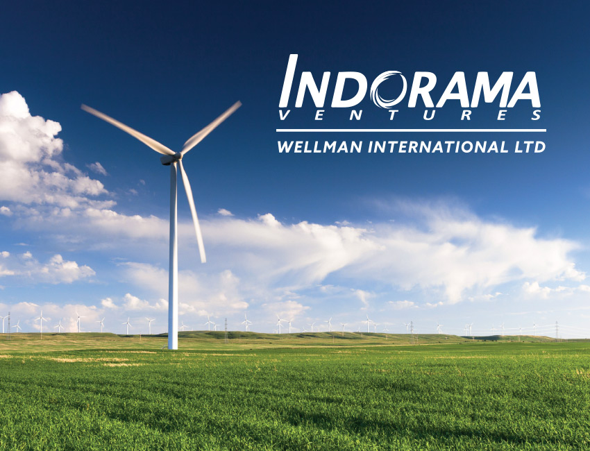 Indorama Wellman International corporate design.