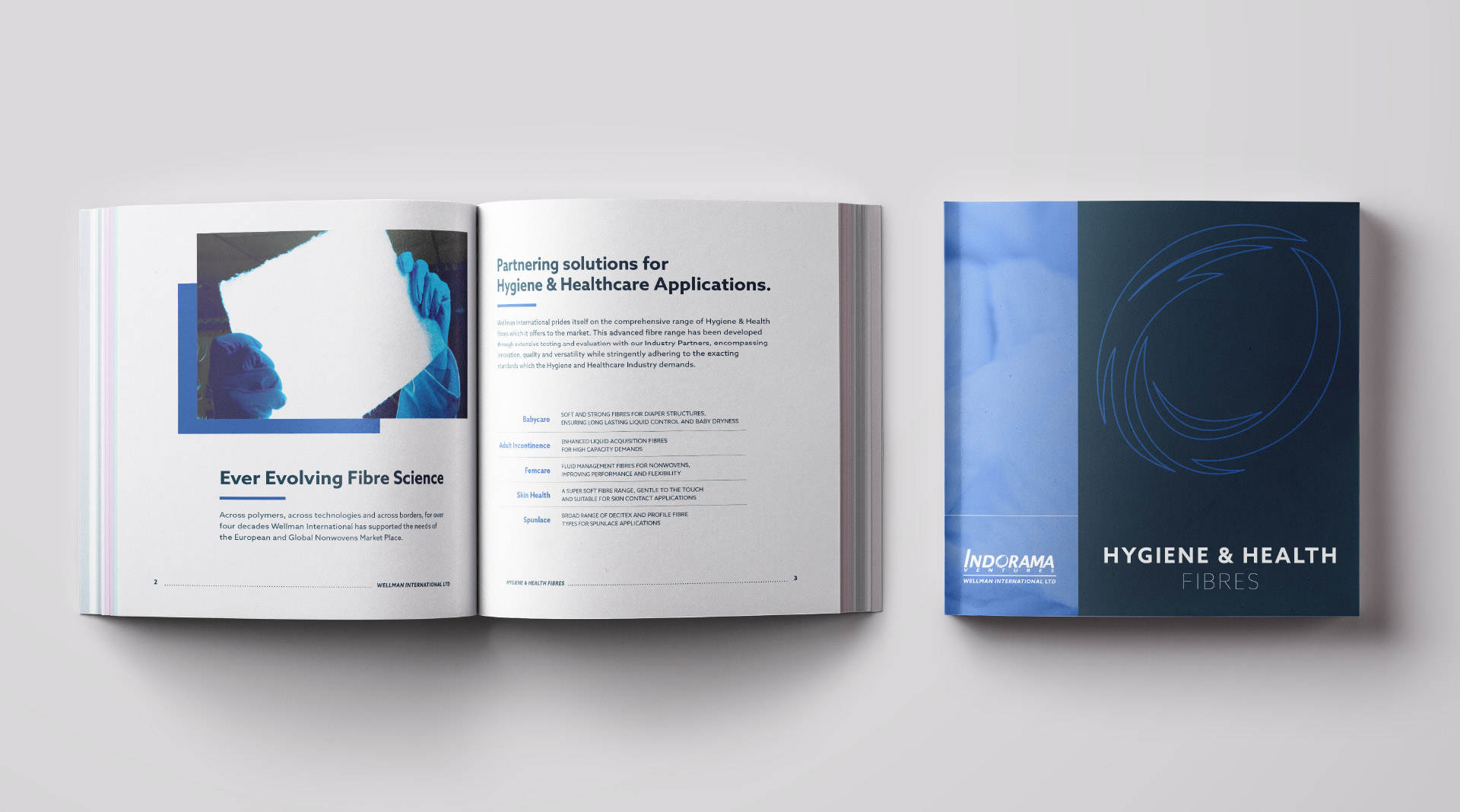 Wellman brochure design