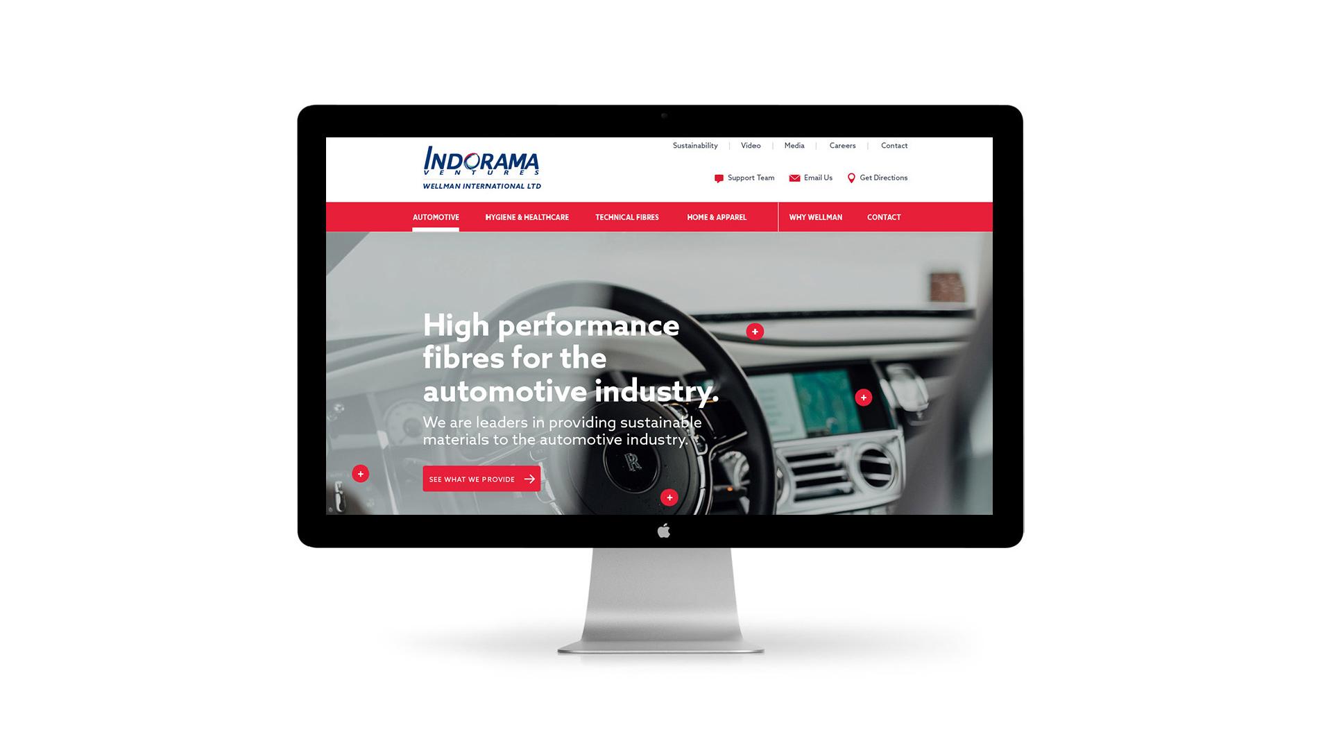 Wellman UX website design homepage