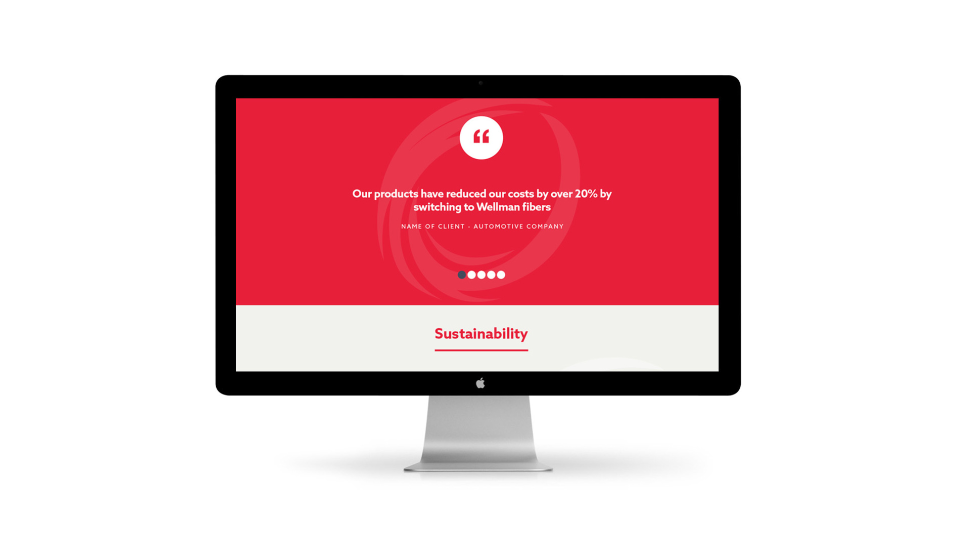 Wellman UX website design