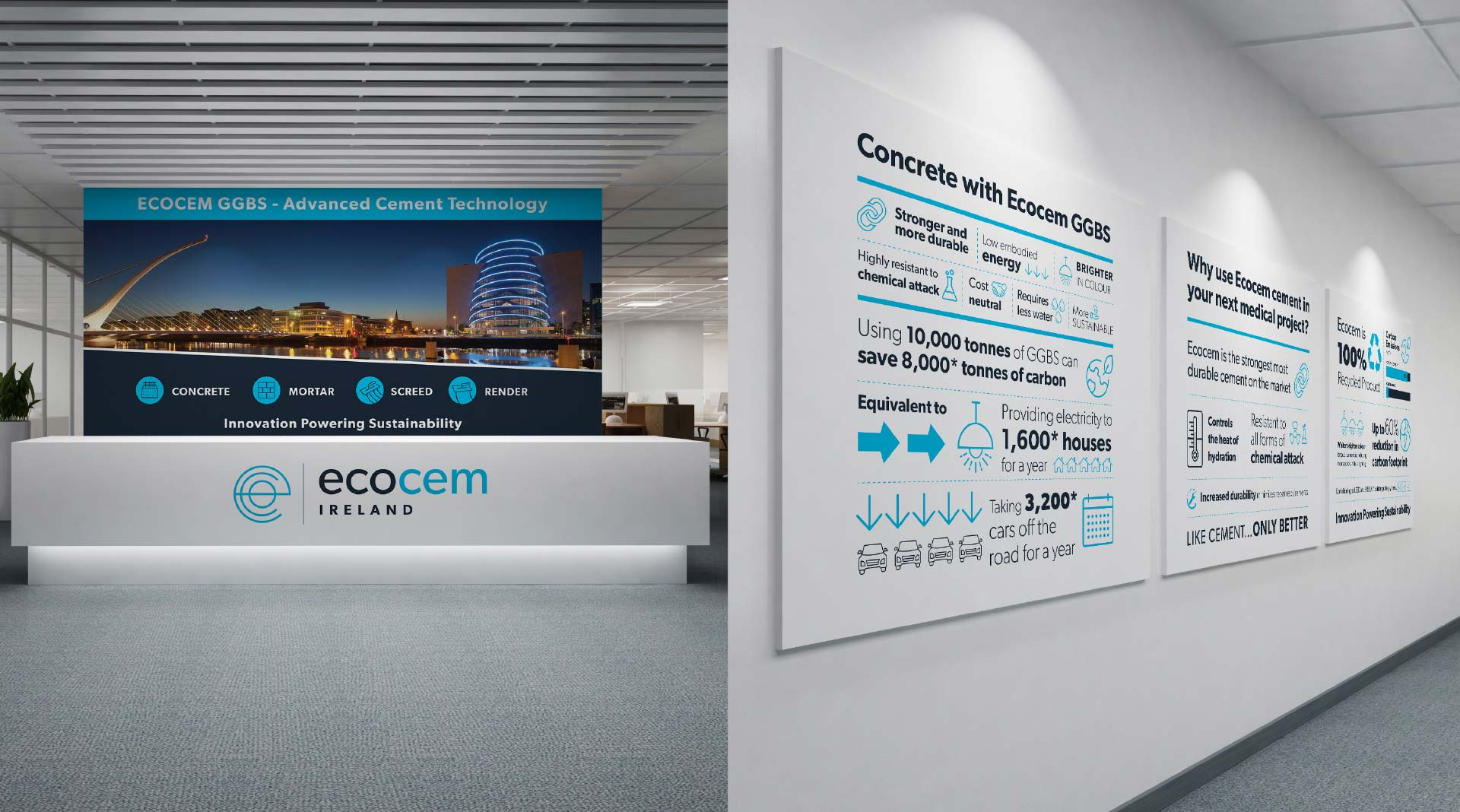 Ecocem Office graphics.