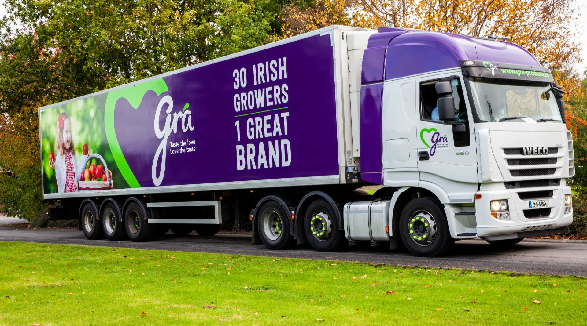 Grá truck and livery design.