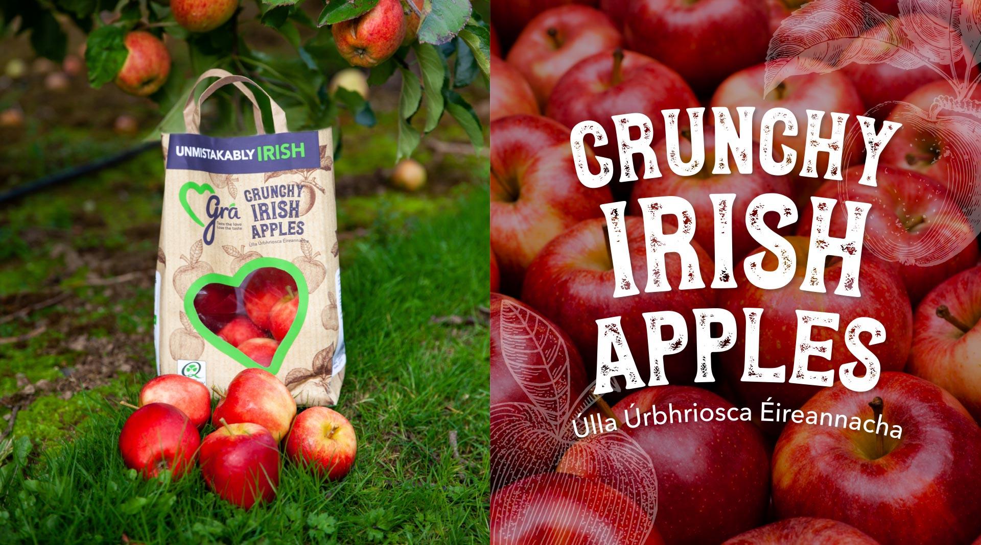 Grá apple packaging design.